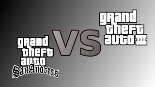 GTA SA vs GTA 3