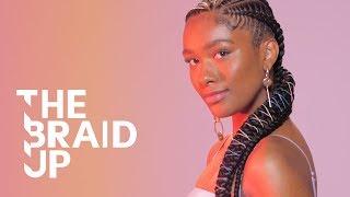 Rainbow Stitch Braids | The Braid Up | Cosmopolitan