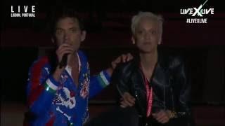 Mika and Mariza (Rock in Rio Lisboa 2016)
