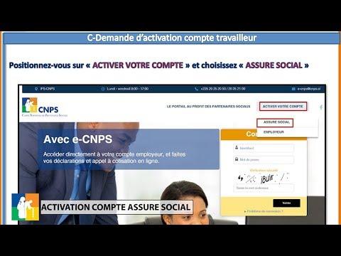 La CNPS lance sa nouvelle plateforme de service en ligne (e-cnps)