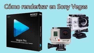 Cómo renderizar en HD con Sony Vegas Pro para Youtube (GoPro o SJ4000)