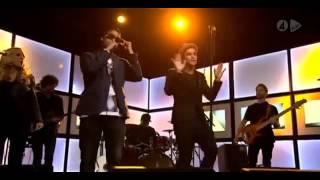 A-LEE - FLASHY (FEAT. ERIC SAADE) LIVE TV4 NYHETSMORGON