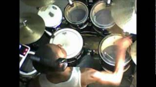 Chris Brown-Boombox/Drum cover