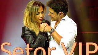 """Setor VIP : : Wanessa e Zezé Di Camargo cantam """"The Prayer"""" em São Paulo (30/04/16)."""