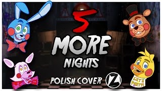 "♫ FNAF 2 Rap by JT Machinima ""Five More Nights"" - Polish cover"