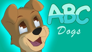 ABC Song English for Children Nursery Rhymes Dog Alphabet Baby TV