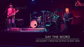 MOSSOM Say the Word - Live at the Outpost