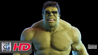 "CGI 3D Animation Fanart : ""THE INCREDIBLE HULK"" - by Robert Kuczera"