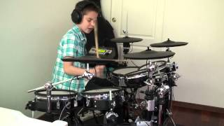Three days grace Time Of Dying Drum cover