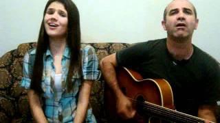 Aninha e Adriano - Maná - Labios Compartidos ( cover)