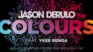 """Colours"" by Jason Derulo featuring Ykee Benda. width="