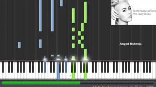 Hands Of Love (Miley Cyrus) Piano Tutorial EASY