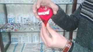 Cam Üfleme Sanatı - Cam Kalp