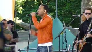 John Legend - Tonight (Best You Ever Had) (HD) Central Park - GMA Summer Concert Series - 6/21/13