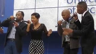 Black Soul singing ilizwi @ Cput Sports and Academic Awards