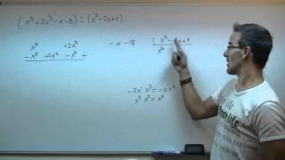 Imagen en miniatura para Division de polinomios