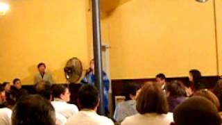 Lily Perez sings Amargura