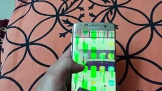 S7 Edge Green Screen Problem