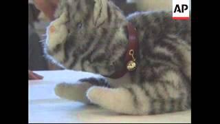 JAPAN: TOKYO: TAMA THE ROBOT CAT UNVEILED