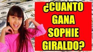 ¿CUANTO GANAN LOS YOUTUBERS?   SOPHIE GIRALDO   YUTUBEROS