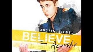 Justin Bieber - Track 8 (Fall) (Believe Acoustic) (Lyrics)