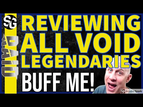 RAID SHADOW LEGENDS | VOID LEGENDARY REVIEW | BUFF | NERFS |