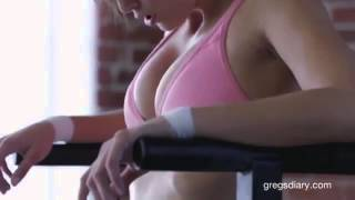 Hottest Workout Ever Malena Morgan NSFW   YouTube
