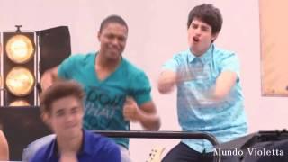 Violetta 3 - Clip 'Más que una amistad' Boysband (Cap 54 y 55) HD