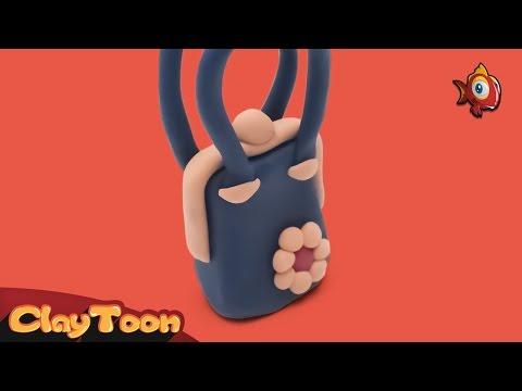 Lady Bag - Polymer clay tutorial | حقيبة نسائية - تشكيل صلصال للأطفال