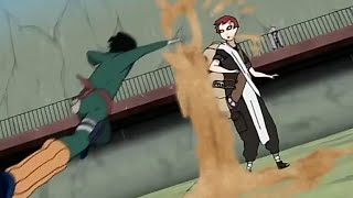 Rock Lee vs Gara [Amv] You Know You're Right