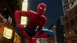 Spider-Man Chases Shocker (Stark Suit Walkthrough) - Marvel's Spider-Man