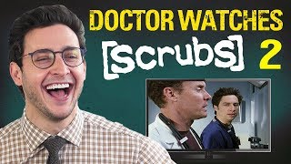 Doctor Reacts to SCRUBS #2 | Medical Drama Review | Doctor Mike width=
