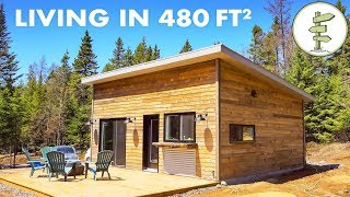 This Could Be the Perfect Size for a Tiny House!  Full Tour & Interview
