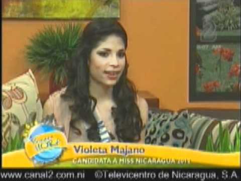 Perfil Violeta Majano Candidata a Miss Nicaragua 2012