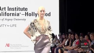 Elsie Delgado @ Art Hearts Fashion Week Los Angeles The Art Institute Of California Presentation