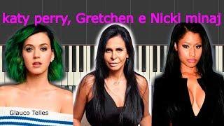 Katy Perry - Gretchen-Swish Swish[cover piano teclado tutorial] intro