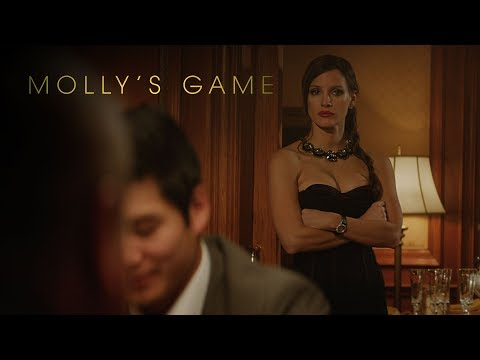 Molly's Game   Trailer Announcement   Now Playing