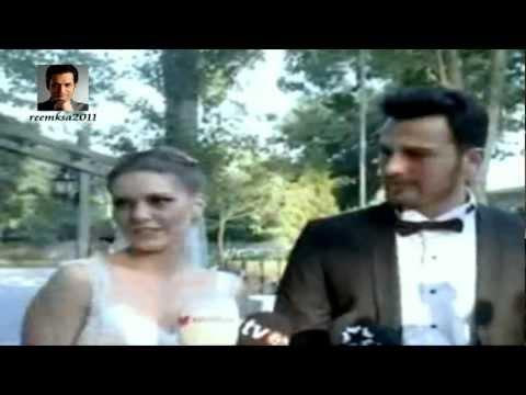 Aslı Enver ve Birkan Sokullu'nun düğününden (Asli Enver wedding) 13 07.2012