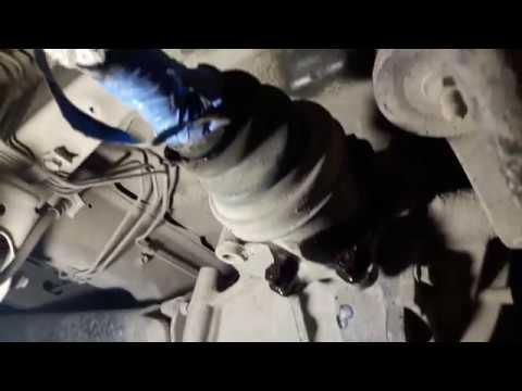 Замена пыльников ШРУС Toyota hiace