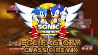 Sonic Riders Egg Factory Classic Sonic Remix
