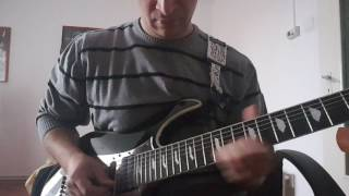Europe - Open Your Heart guitar solo cover.