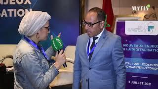 CCGM sur les nouveaux enjeux de la digitalisation : Déclaration de Chakib Achour