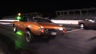 GRUDGE RACING and Testing - Tulsa Midnight Drags