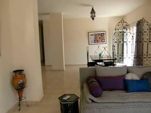 Luxury duplex (3 bedrooms 2 floors)  for rental in Med-Saidia – Ref: AP6 HG