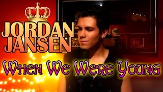 When We Were Young - Adele  (Jordan Jansen Cover)