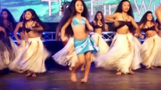 """The Fire Within - Nonosina performing """"Logo Te Pate"""" by Te Vaka"""