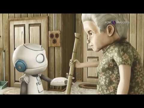 機器人與孤獨的婆婆.....快打個電話給媽媽說:我愛你。 - YouTube