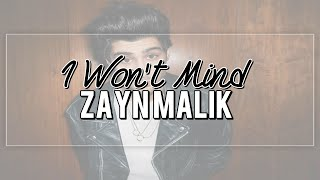I Won't Mind (demo) - Zayn Malik // español.