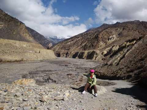 Deepak & Alice Nepal Jomsom Trek www.divineexplore.com