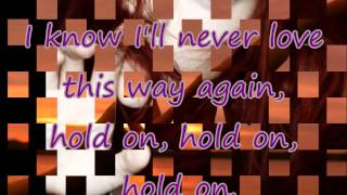 I`ll Never Love This Way Again - Dionne Warwick (Salve Jorge) Théo e Morena - Lyrics HD